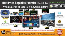 Wholesale Price Led Tvs All Sizes Smart\NonSmart\4K Uhd | Gaming Items