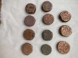 800 Year's  old antique coins , medal's