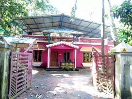 3bhk house and 26.5 cents property