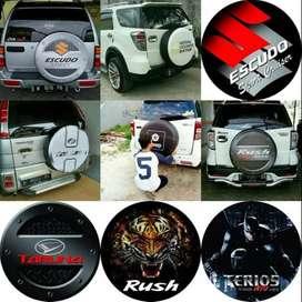 Suzuki Vitara/Rush/Terios/Jeep/CRV Cover/Sarung Ban Legenda#Cat Asli I