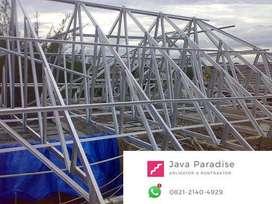 jasa pemasangan atap baja ringan termurah bandung barat jujur amanah
