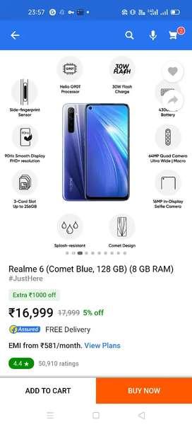 Realme6 mobile