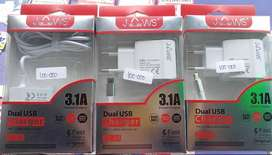 CHARGER JAWS DUAL USB