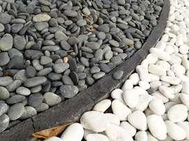 Batu putih alami