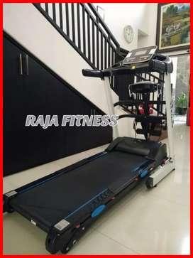 Treadmill elektrik nagoya auto incline mewah