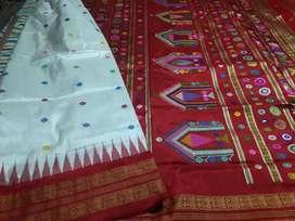 We are manufacturer of sambalpuri silk