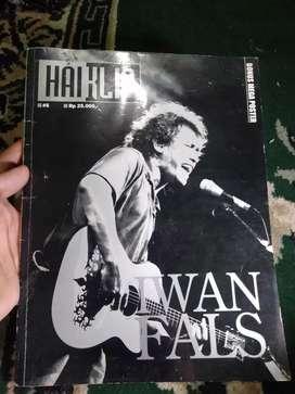Majalah musik hai klip Iwan fals
