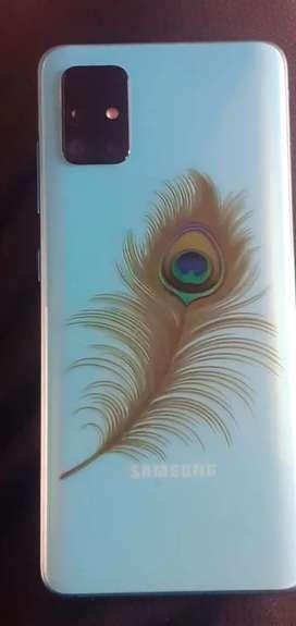 Samsung galaxy A51, 6 Ram 128 Rom online price 23000 bill sathe