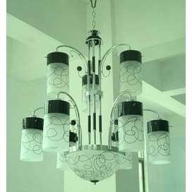 Lg minimalis dua tahap dengan 12 lampu