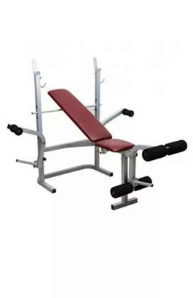 Gym multi bench with 100kg weight