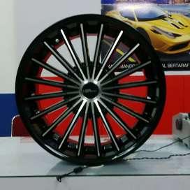 Velg Mobil Mitsubishi Xpander Ring 18 || HSR Wheel Surabaya