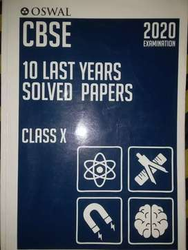 Class 10 CBSE 10 last years solved papers