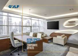 Offices on 1.5years Easy Installments opposite Bahria Headoffice