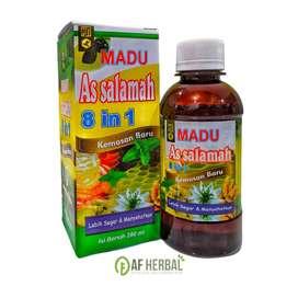 Madu Batuk Flu Assalamah 8 in 1 (280 gram)