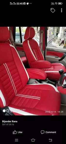 5 Seater large Segment Bucket,Semi Bucket,Customized Car Seat Cover