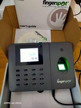 mesin absensi sidik jari fingerspot revo W-202bnc wifi,lan,online fio