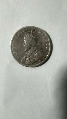I want to sale 1 rupee Silver old coin