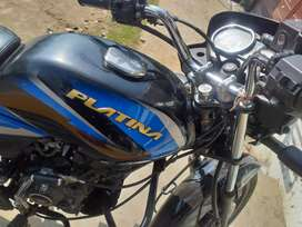 Platina 110cc H gear very gud condition 5 year insurance