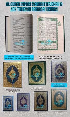 Mushaf Al Quran Asli Import Madinah (Iklan Purworejo)