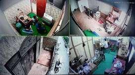 CCTV XVI 4 Channel 2Mp Brand ternama dunia dengan Spek komplit
