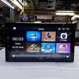 Double din/Tv mobil JEC-DVD^VCD^MP3*MIRROR LINK$ DI KEDUNGWARINGIN$
