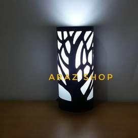 lampu Tidur LED hias ukir handmade ranting meja tempel interior