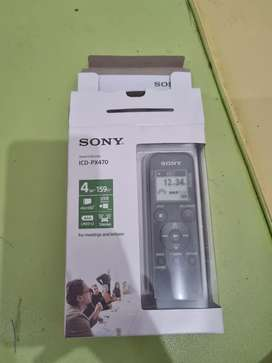 SONY  Stereo IC Recorder ICD PX470