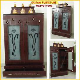 Sairam Furniture Brand new pooja mandhir mandapam factory outlet price
