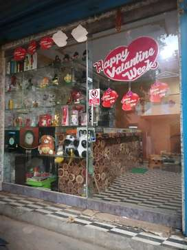 Fully furnished shop available