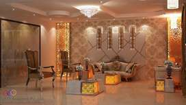 All types of Interior decoration home and offices kitchen baths etc