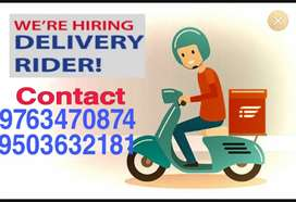 Join leading food delivery company part time & full time work
