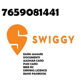 PETROL ALLOWANCES+JOINING BONUS JOIN SWIGGY EARN MORE INCOME JOIN NOW