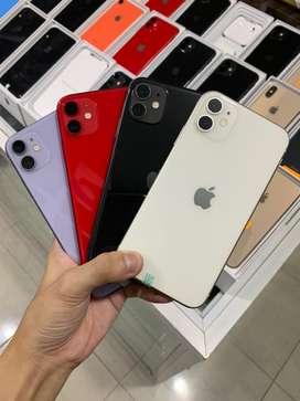 iPhone 11 64gb 128 gb Fullset GARANSI 2 BULAN MULUS LIKE NEW