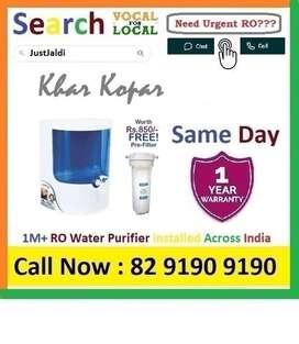 KharKopar1 RO Water Purifier Water Filter UV AC dth 9L bed L - car   C