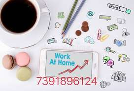 Part & Full Time& Home based Internet Work & Earn 300 rs daily. Jobs