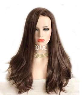 Women lace hair wig brown