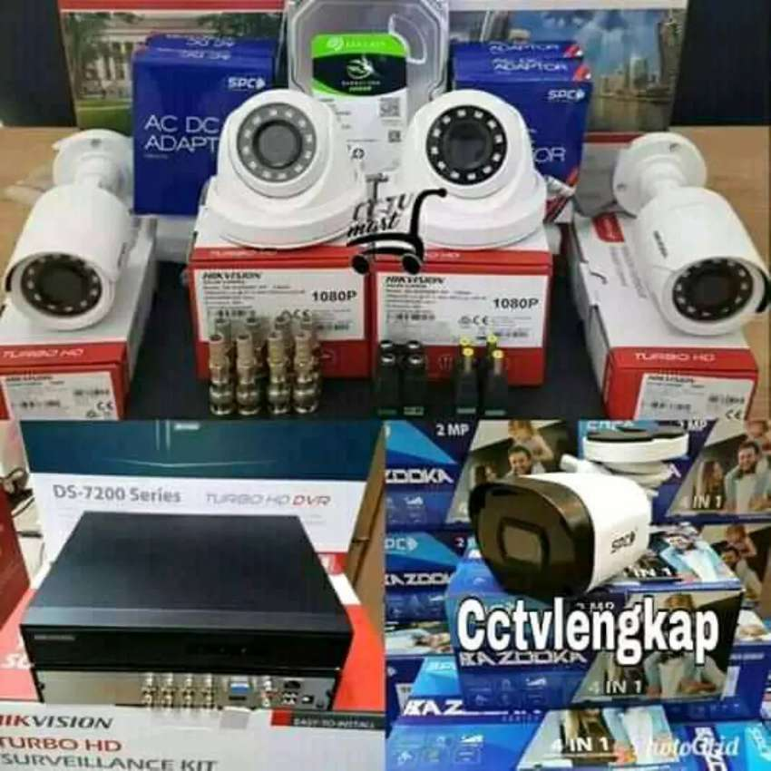 Kamera CCTV murah dan bisa pilih paket Promo tak terbatas 0