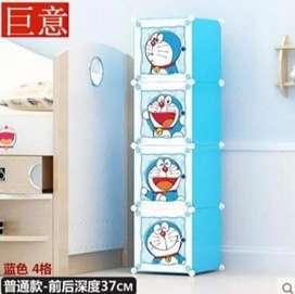 lemari boneka / lemari baju / lemari portable