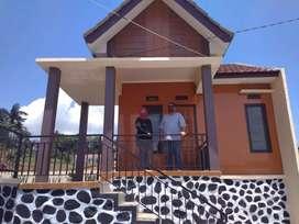 Rumah Etnik Desain Villa Berkualitas Promo Cukup Bayar 279 Juta