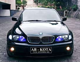 BMW 318i E46 Facelift 2.0, Plat AB Kota, Pajak Baru, Black on Beige