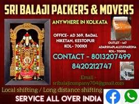 Sri Balaji Packers and Movers in kolkata