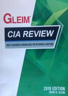 CIA Review Gleim Books 2019 Part I , II & III complete