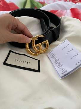 Gucci marmont belt shine 3cm size 90