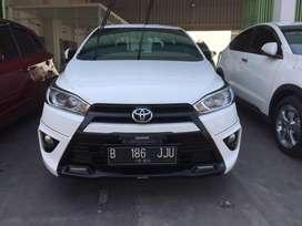 Toyota Yaris S TRD At 2015 Putih TDP 18 jt
