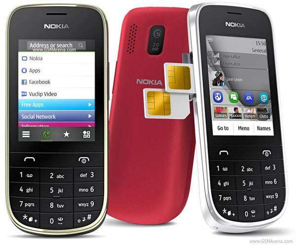 Touch &Type Nokia Asha 2O2    Free Home delivery All Pakistan 0