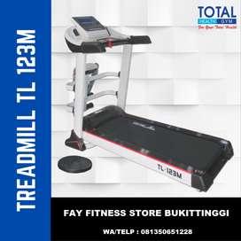 Treadmill Listrik 5 Fungsi Auto Incline Big Treadmill TL 123M