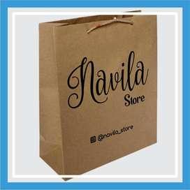 Paper Bag Craft Sablon Paper Bag Craft - Sibolga Kota