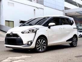 Toyota Sienta 1.5 V AT/Matic 2018 (HeadUnit Android 10) Putih Metalik
