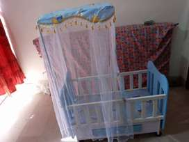 Baby cot new condition