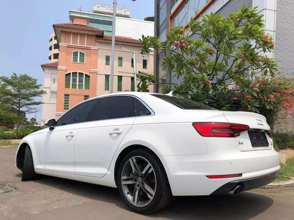 Audi A4 Quattro 2016 New Model White On Black Service Record 252Hp